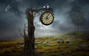 Old-Time-Clock-Wallpaper-Image