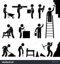 stock-vector-man-people-working-construction-carrying-building-industry-painting-sawing-hard-labor-pictogram-83159008