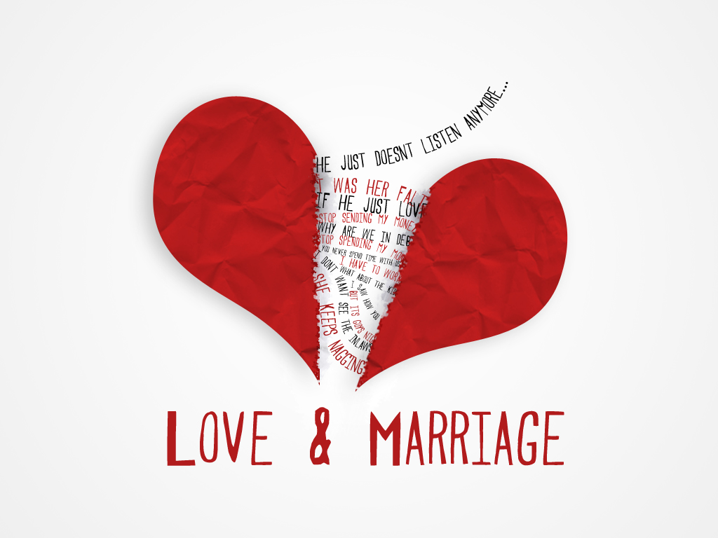 love for marriage and love for We all know it's easy to fall in love, but alex kuczynski argues that keeping   there is so much literature about making marriages work, and so.