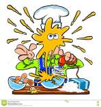 messy-cartoon-chef-cooking-kitchen-funny-splashing-eggs-yoke-over-his-face-as-mixes-eggs-electric-whisker-76468616